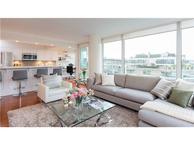 Photo 6: Photos: 1005 1500 HORNBY Street in Vancouver: Yaletown Condo  (Vancouver West)  : MLS®# V1129040