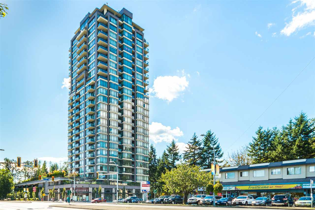 Main Photo: 705 2789 SHAUGHNESSY STREET in Port Coquitlam: Central Pt Coquitlam Condo for sale : MLS®# R2008410