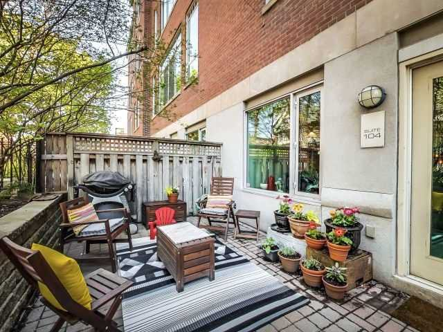 Main Photo: 21 Nassau St Unit #104 in Toronto: Kensington-Chinatown Condo for sale (Toronto C01)  : MLS®# C3503834