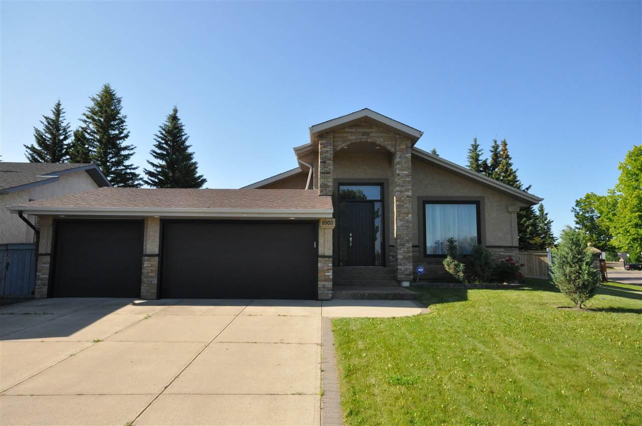 Main Photo: 1003 WANYANDI Way in Edmonton: Zone 22 House for sale : MLS®# E4165550