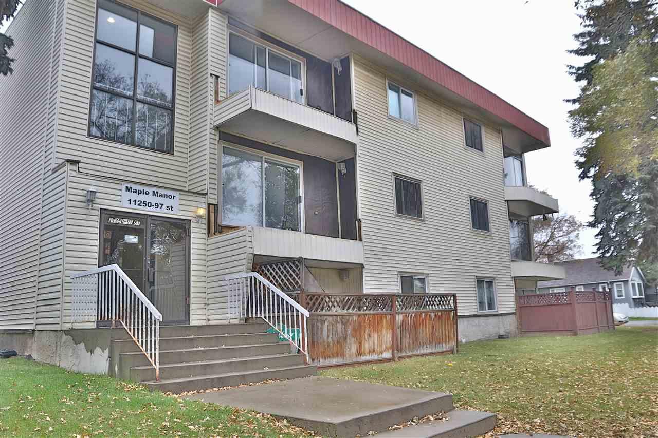 Main Photo: 305 11250 97 Street in Edmonton: Zone 08 Condo for sale : MLS®# E4177340