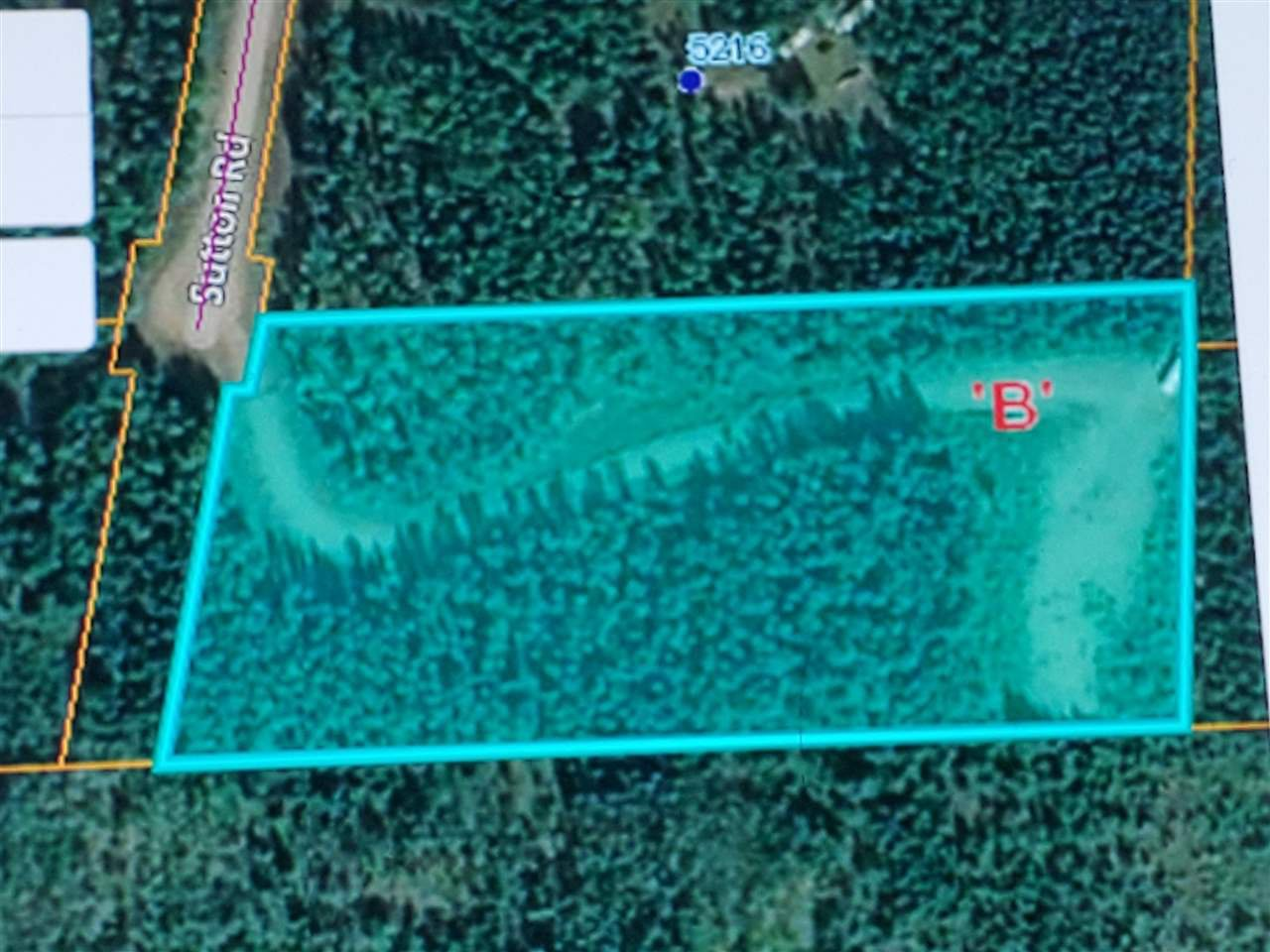 Main Photo: LOT 6 SUTTON Road in Quesnel: Quesnel - Rural North Land for sale (Quesnel (Zone 28))  : MLS®# R2509857