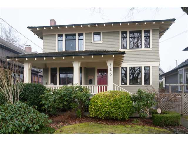 "Main Photo: 323 4TH ST in New Westminster: Queens Park House for sale in ""QUEENS PARK"" : MLS®# V1001723"