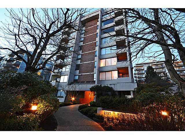 Main Photo: # 602 1737 DUCHESS AV in West Vancouver: Ambleside Condo for sale : MLS®# V1043637