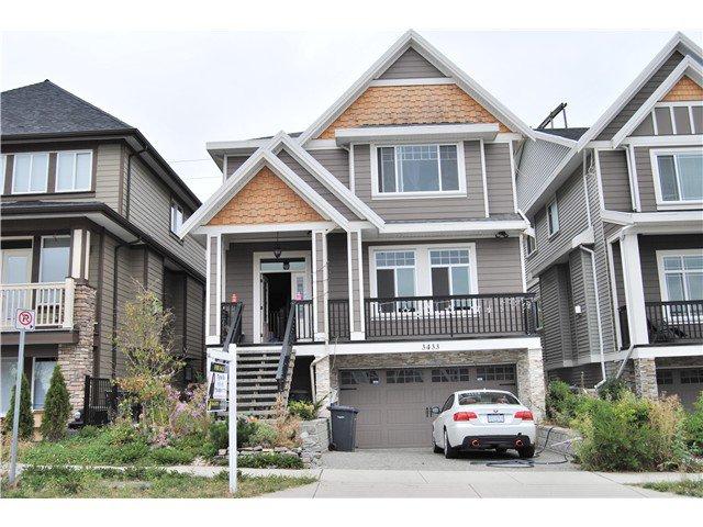 Main Photo: 3433 GISLASON AV in Coquitlam: Burke Mountain House for sale : MLS®# V1081995