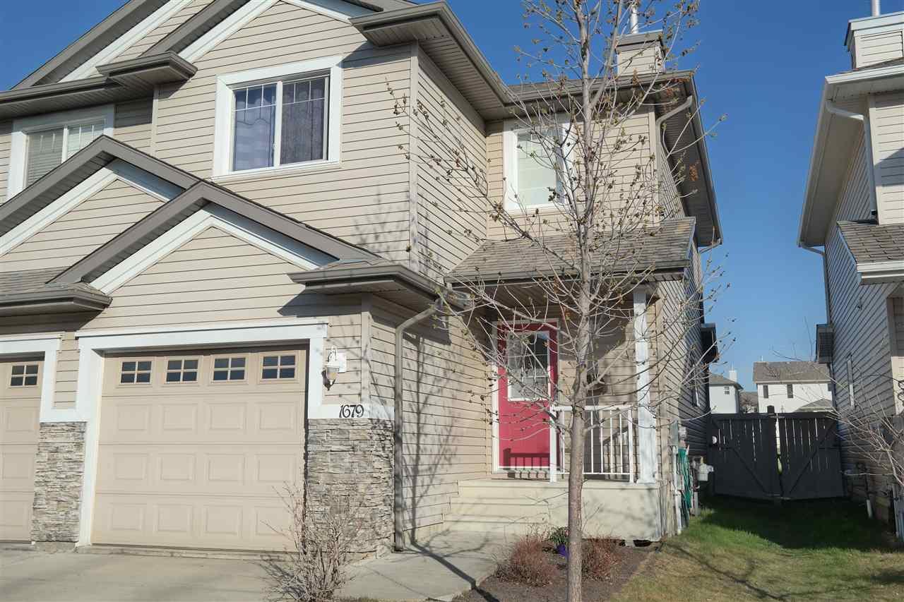 Main Photo:  in Edmonton: Zone 55 House Half Duplex for sale : MLS®# E4197335