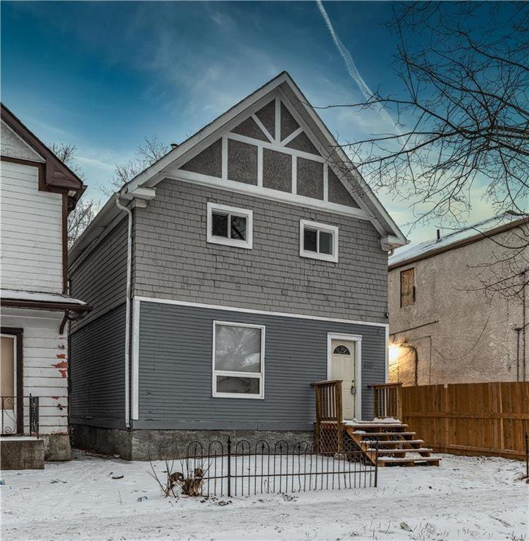 Main Photo: 402 Boyd Avenue in Winnipeg: North End Residential for sale (4A)  : MLS®# 202029662
