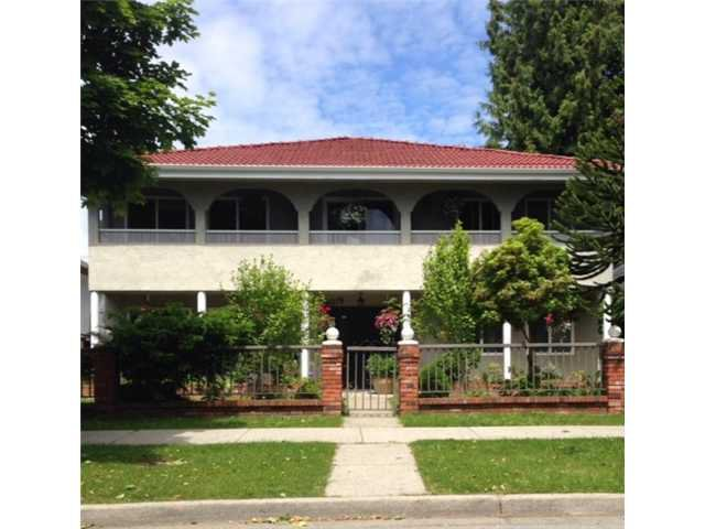 Main Photo: 4075 TRIUMPH ST in Burnaby: Vancouver Heights House for sale (Burnaby North)  : MLS®# V1069074