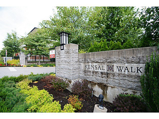 Main Photo: # 22 1125 KENSAL PL in Coquitlam: New Horizons Townhouse for sale : MLS®# V1136782
