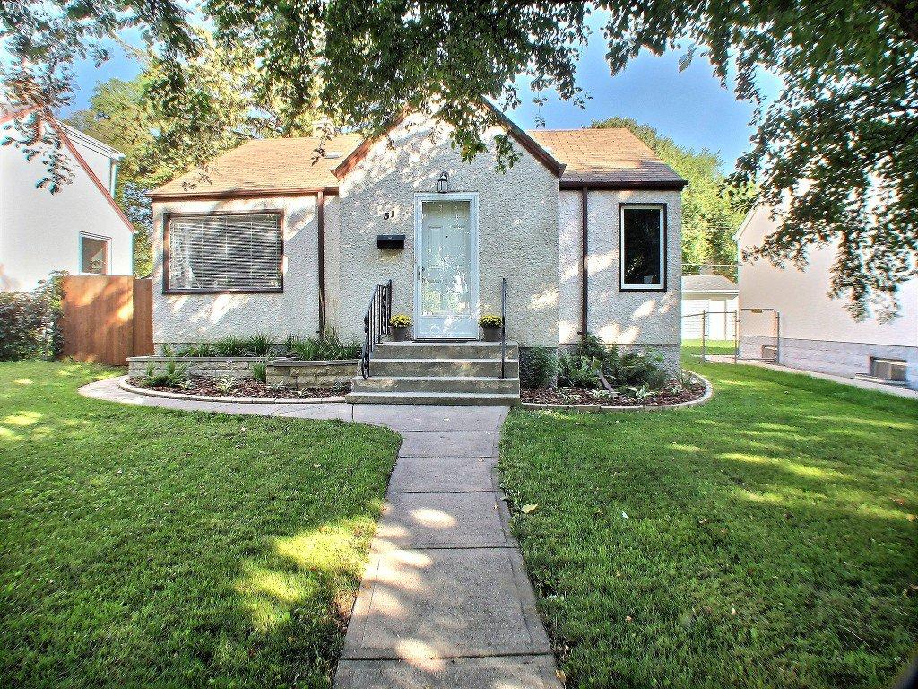 Main Photo: 51 Glenlawn Avenue in Winnipeg: Elm Park Residential for sale (South East Winnipeg)  : MLS®# 1523128