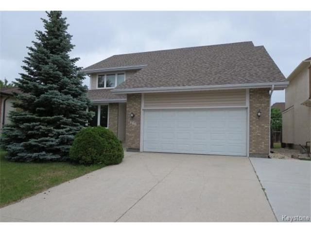 Main Photo: 205 Westchester Drive in Winnipeg: Single Family Detached for sale (Lindenwoods)  : MLS®# 1414616