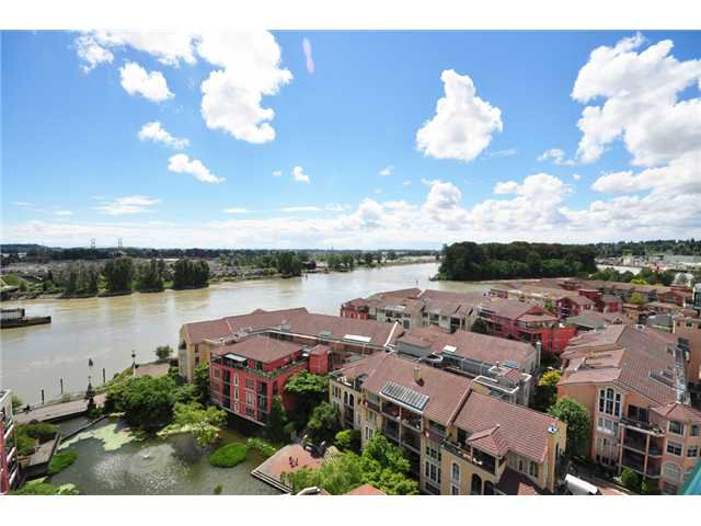 "Main Photo: 1408 10 LAGUNA Court in New Westminster: Quay Condo for sale in ""LAGUNA LANDING"" : MLS®# V1012476"