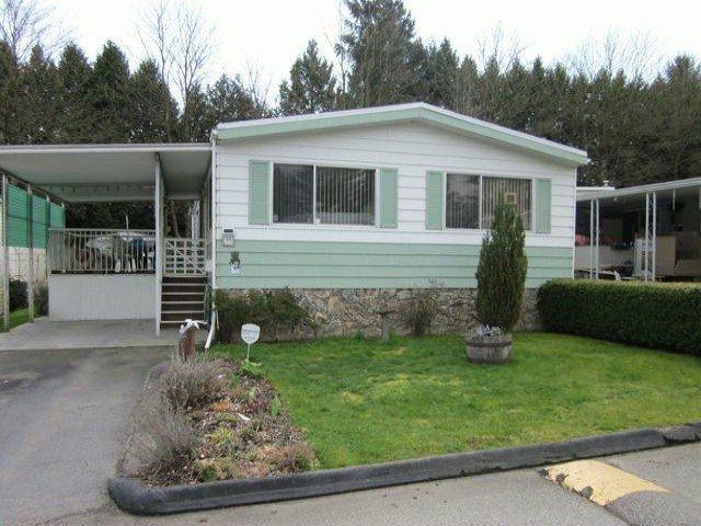 "Main Photo: 77 7850 KING GEORGE Boulevard in Surrey: East Newton Manufactured Home for sale in ""Bear Creek Glen"" : MLS®# F1317866"