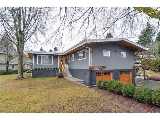 Main Photo: 100 MUNDY ST in Coquitlam: Cape Horn House for sale : MLS®# V1041129
