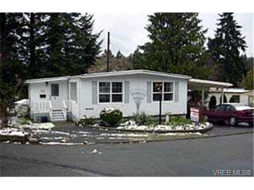 Main Photo: 23 2587 Selwyn Rd in VICTORIA: La Mill Hill Manufactured Home for sale (Langford)  : MLS®# 303814