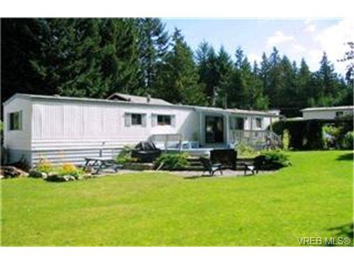 Main Photo:  in MALAHAT: ML Malahat Proper Manufactured Home for sale (Malahat & Area)  : MLS®# 377390