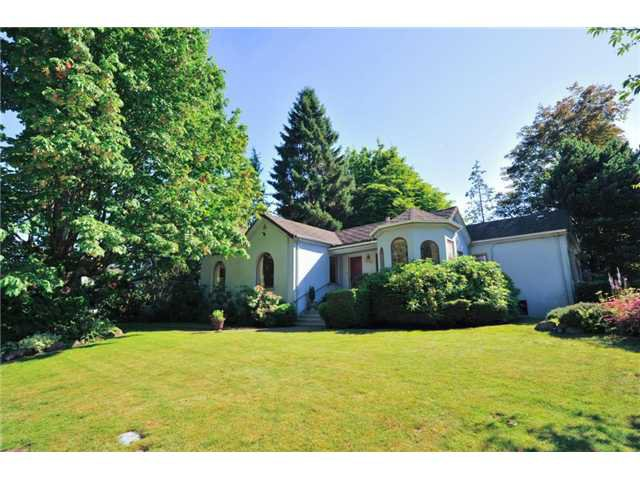 "Main Photo: 418 FIRST Street in New Westminster: Queens Park House for sale in ""QUEENS PARK"" : MLS®# V1075029"