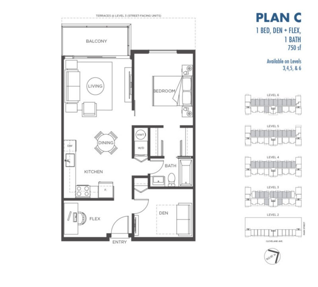 """Main Photo: 403 37881 CLEVELAND Avenue in Squamish: Downtown SQ Condo for sale in """"The Main"""" : MLS®# R2448489"""