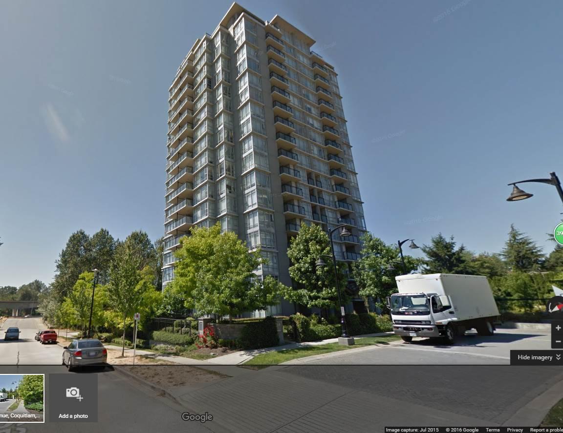 Main Photo: 909 555 DELESTRE AVENUE in Coquitlam: Coquitlam West Condo for sale : MLS®# R2022196