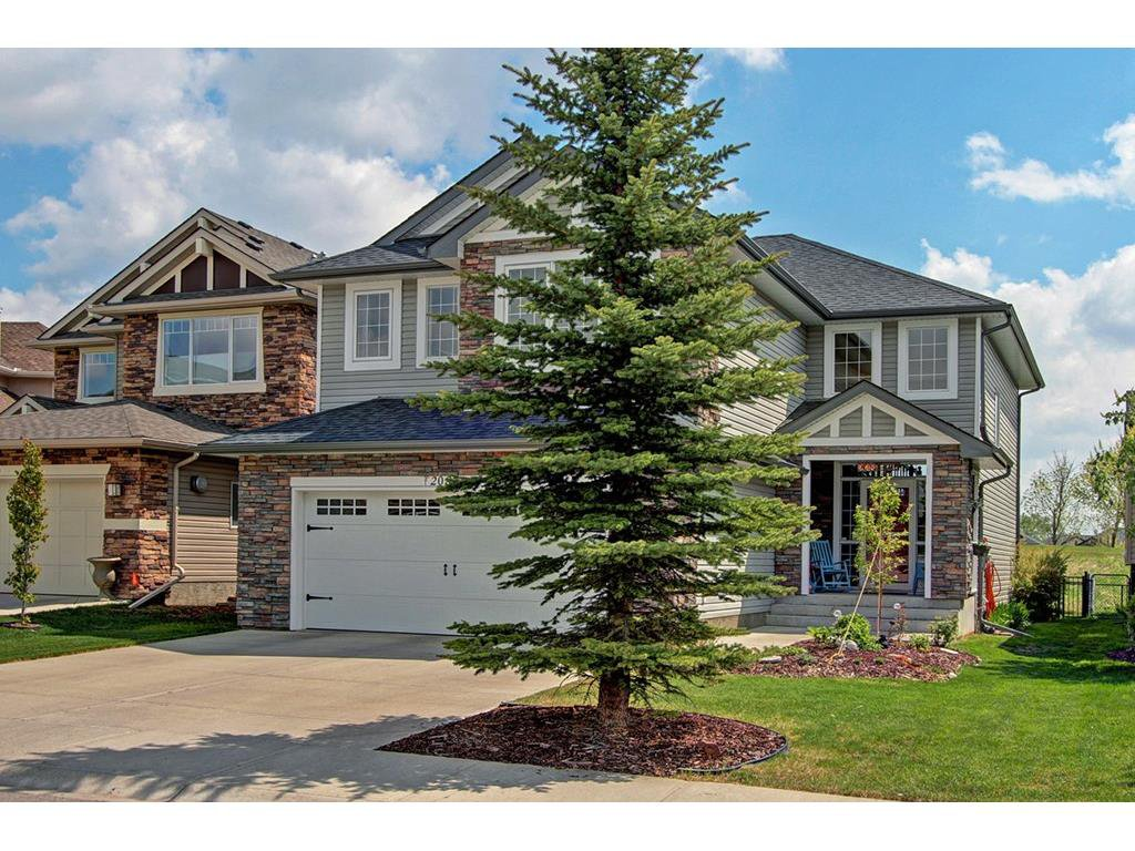 Main Photo: 208 Crystal Green Point in Okotoks: Detached for sale : MLS®# C4065468