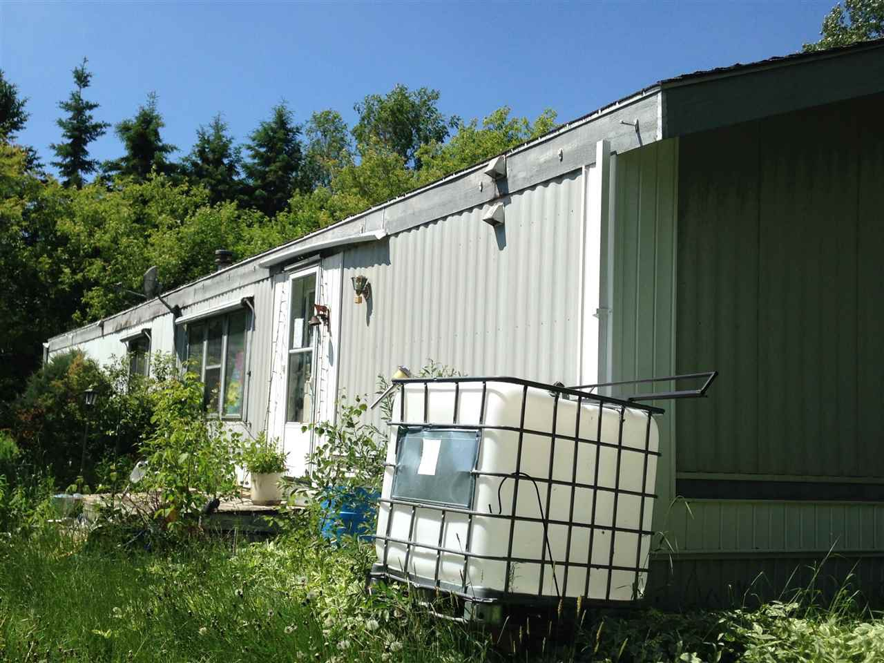 Main Photo: 4224 Hwy 633: Rural Lac Ste. Anne County Manufactured Home for sale : MLS®# E4176553