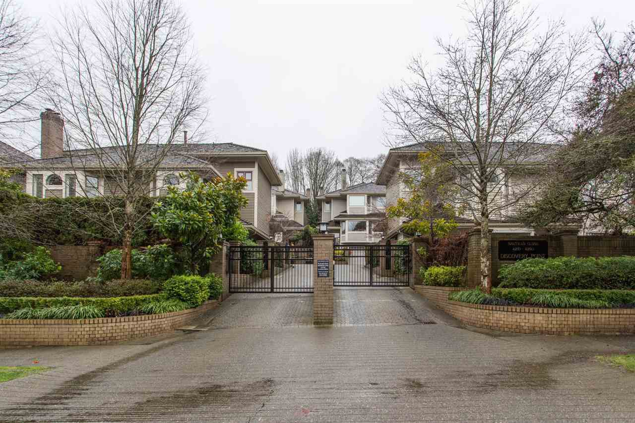 Main Photo: 4210 NAUTILUS Close in Vancouver: Point Grey Townhouse for sale (Vancouver West)  : MLS®# R2425765