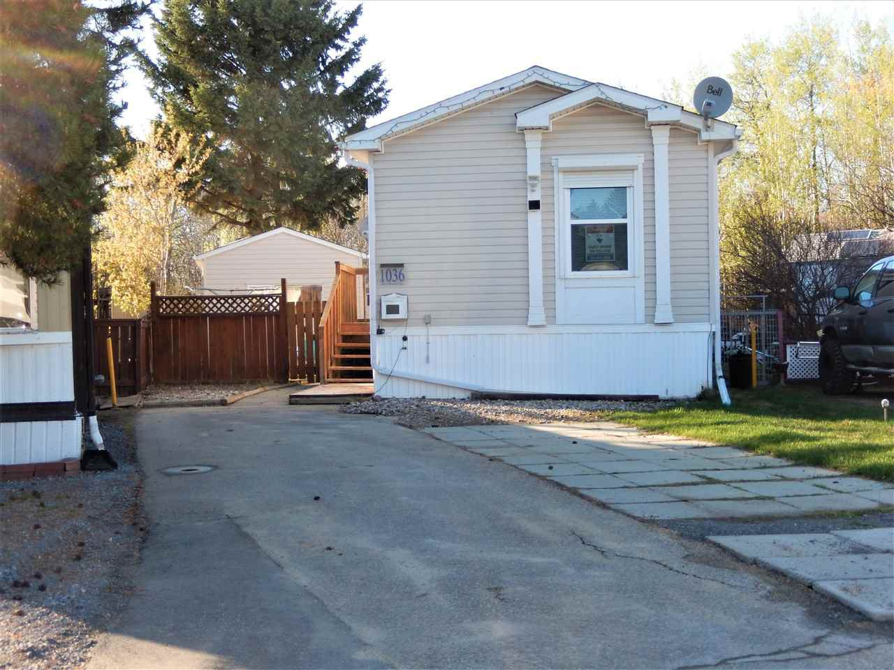 Main Photo: 1036 WEST MOUNT Crescent in Edmonton: Zone 59 Mobile for sale : MLS®# E4196633