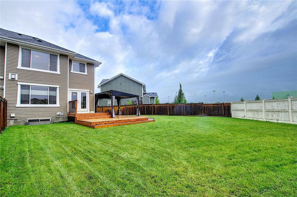 Main Photo: 62 River Heights Crescent: Cochrane Semi Detached for sale : MLS®# C4304860