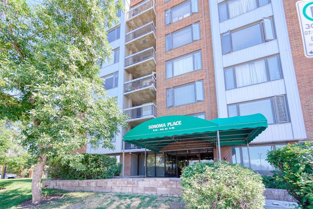Main Photo: 150 310 8 Street SW in Calgary: Eau Claire Apartment for sale : MLS®# A1020597