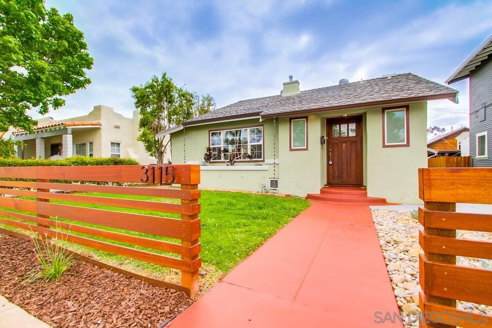 Main Photo: NORTH PARK House for sale : 3 bedrooms : 3115 McKinley St in San Diego