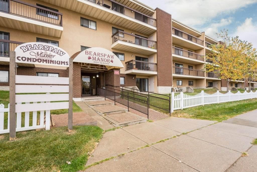 Main Photo: 406 10511 19 Avenue in Edmonton: Zone 16 Condo for sale : MLS®# E4217477