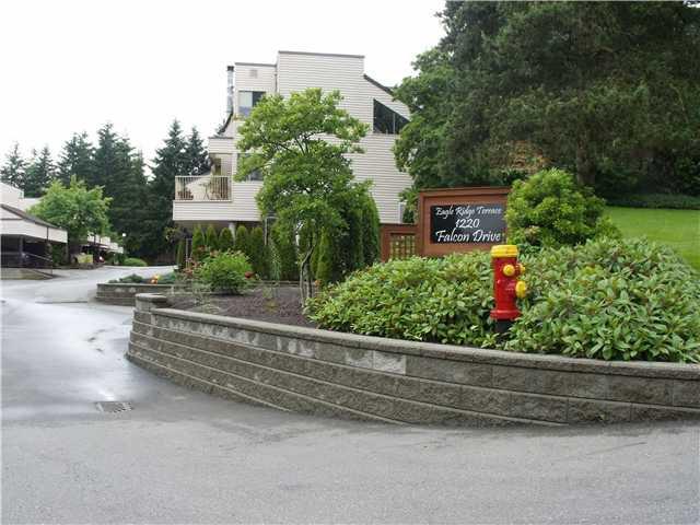 "Main Photo: 228 1220 FALCON Drive in Coquitlam: Upper Eagle Ridge Townhouse for sale in ""EAGLE RIDGE TERRACE"" : MLS®# V957080"