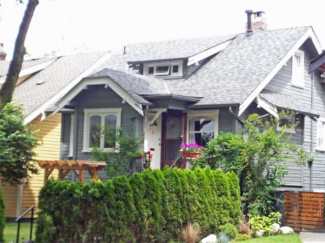 Main Photo: 2011 Graveley Street in Vancouver: Grandview VE House for sale (Vancouver East)  : MLS®# V899501