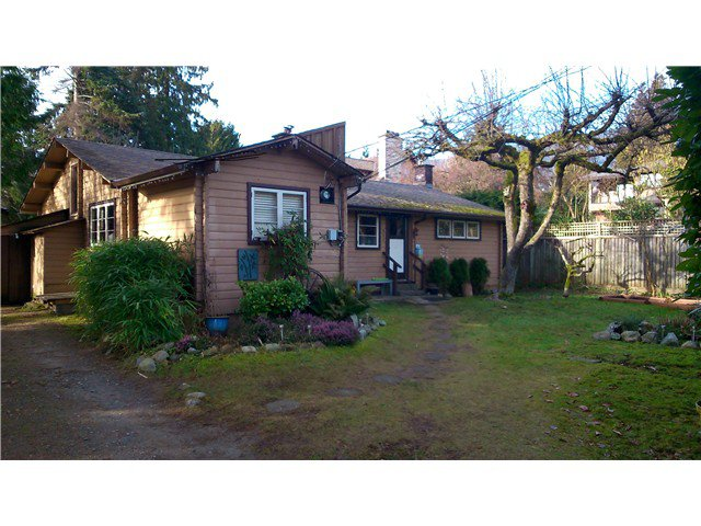 Main Photo: 931 22ND ST in West Vancouver: Dundarave House for sale : MLS®# V1101726