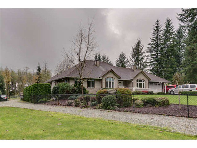 Main Photo: 30146 DEWDNEY TRUNK RD in Mission: Stave Falls House for sale : MLS®# F1440578