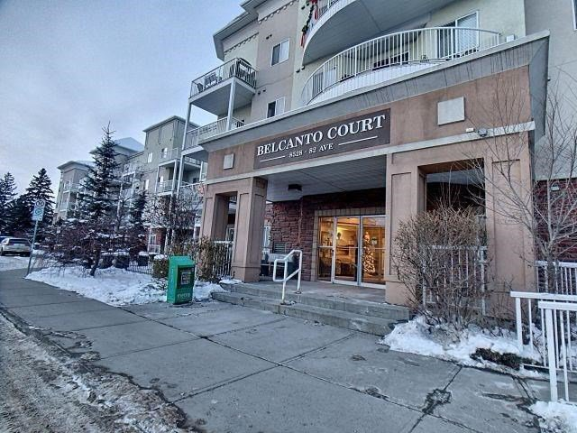 Main Photo: 305 8528 82 Avenue in Edmonton: Zone 18 Condo for sale : MLS®# E4168648