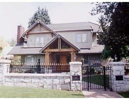 Main Photo: 1133 Connaught Dr: Home for sale (Shaughnessy)  : MLS®# v563007