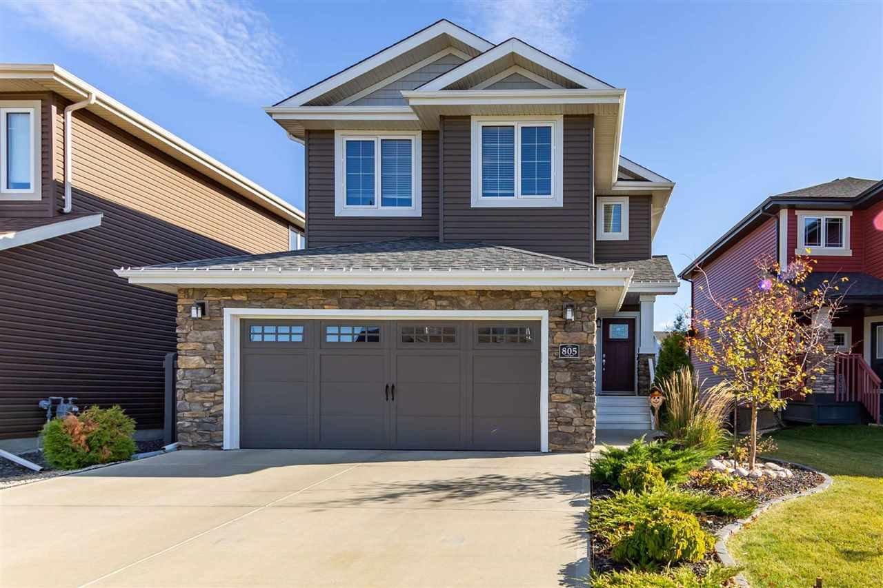 Main Photo: 805 NORTHERN HARRIER Lane in Edmonton: Zone 59 House for sale : MLS®# E4217806