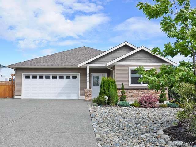 Main Photo: 2414 Silver Star Pl in COMOX: CV Comox (Town of) House for sale (Comox Valley)  : MLS®# 624907