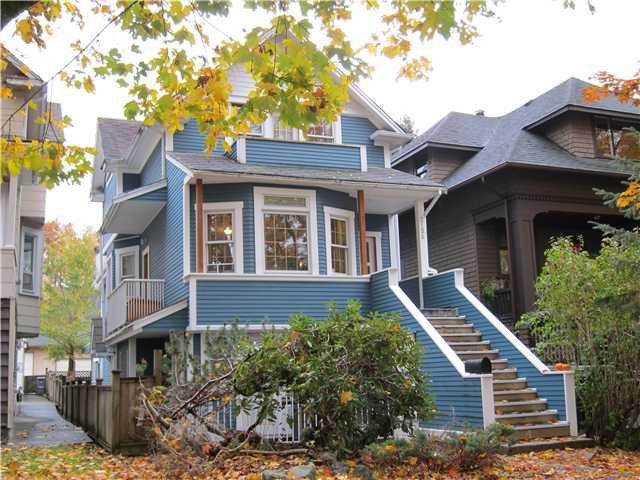 Main Photo: 2158 W 13TH AV in : Kitsilano House for sale : MLS®# V856550