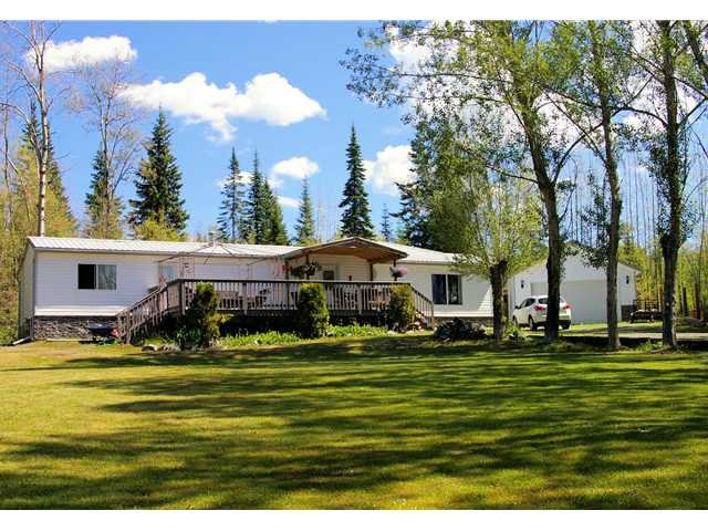 Main Photo: 2866 EVASKO Road in Prince George: South Blackburn Manufactured Home for sale (PG City South East (Zone 75))  : MLS®# N237604