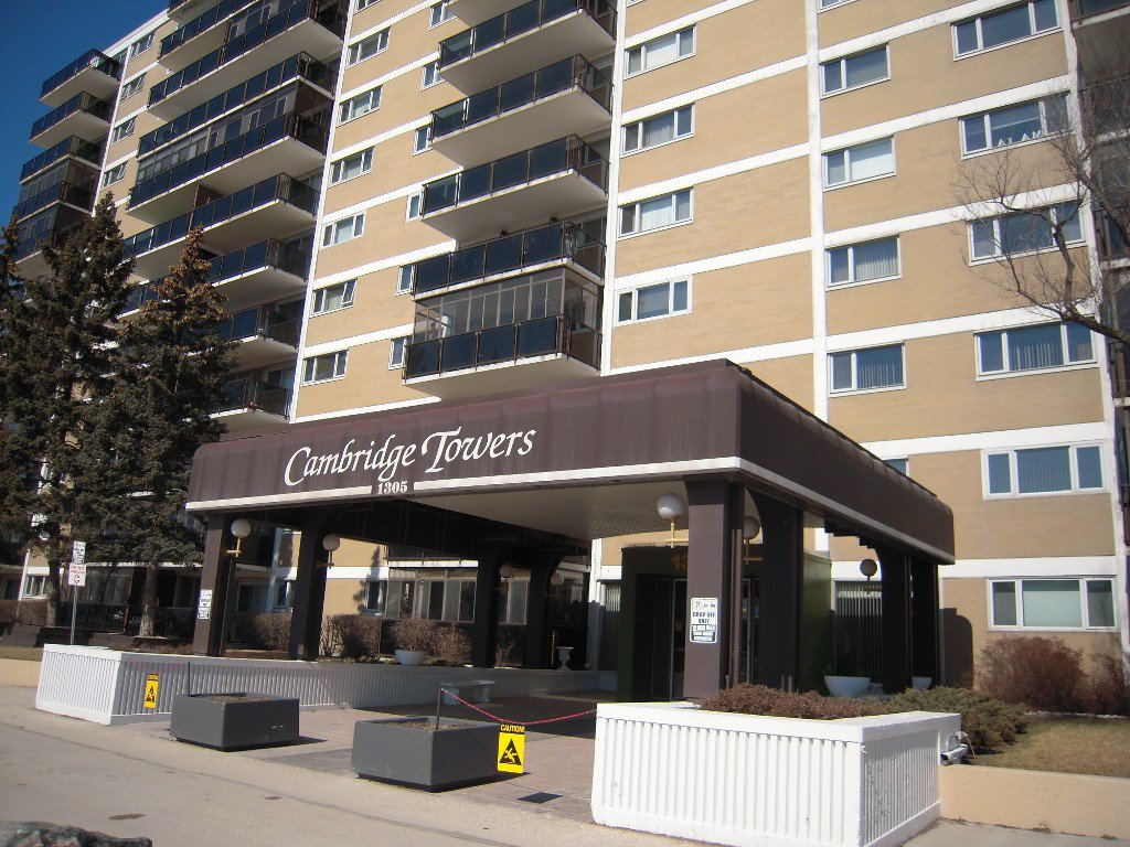 Main Photo: 604 1305 grant Avenue in Winnipeg: River Heights / Tuxedo / Linden Woods Condominium for sale (South Winnipeg)  : MLS®# 1507808