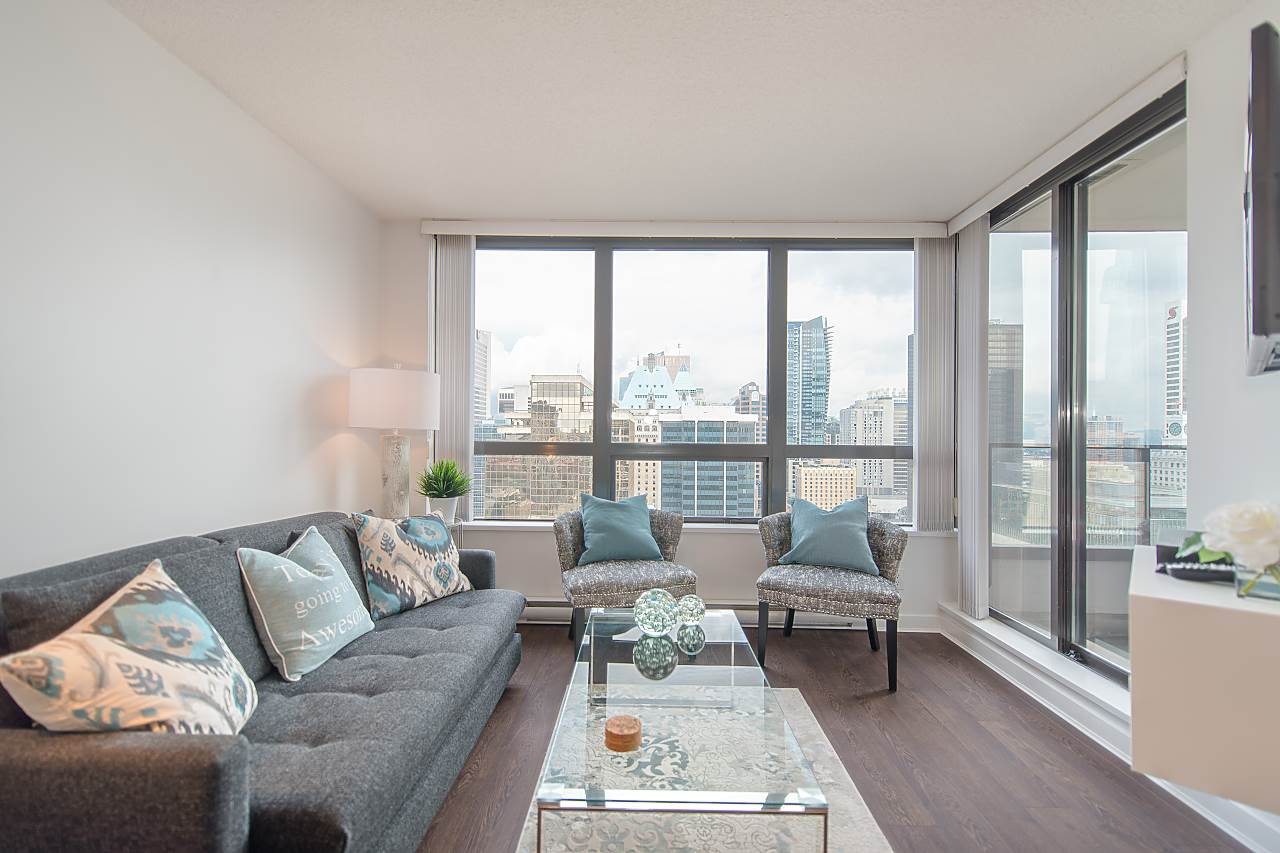 Main Photo: 2214 938 Smithe St in Vancouver: Downtown VW Condo for sale (Vancouver West)  : MLS®# R2299163