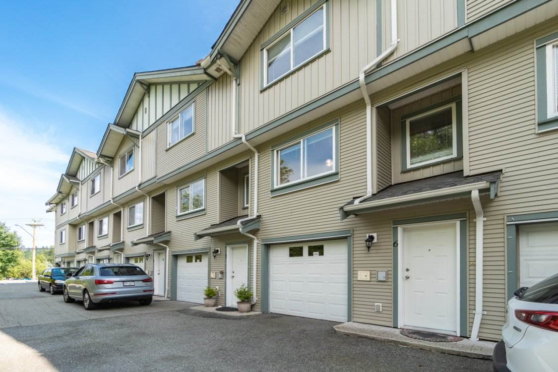 Main Photo: 6 901 CLARKE Road in Port Moody: College Park PM Townhouse for sale : MLS®# R2392750