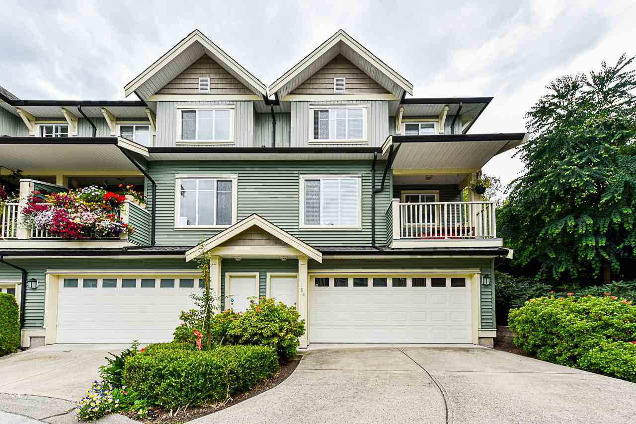 "Main Photo: 54 6575 192 Street in Surrey: Clayton Townhouse for sale in ""IXIA"" (Cloverdale)  : MLS®# R2495688"