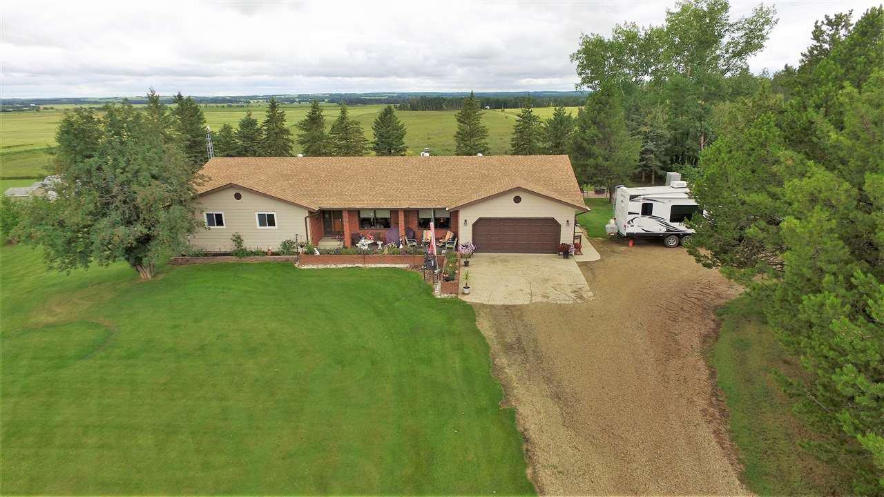 Main Photo: RR1 Falun: Rural Wetaskiwin County House for sale : MLS®# E4222158