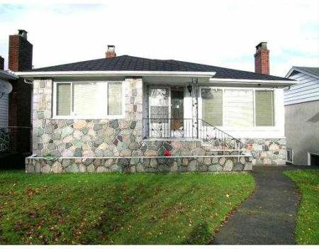 Main Photo: 2535 E 1ST AV in Vancouver: House for sale (Renfrew VE)  : MLS®# V655440
