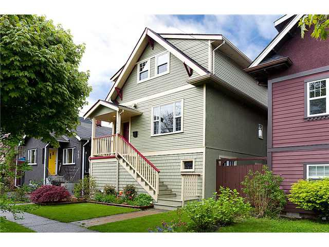 Main Photo: 269 E 32ND Avenue in Vancouver: Main House for sale (Vancouver East)  : MLS®# V948828