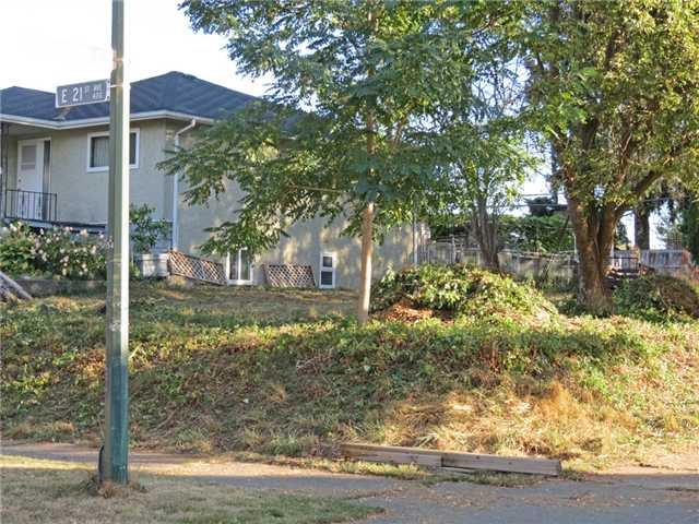 Main Photo: 404 E 21ST Avenue in Vancouver: Fraser VE Land for sale (Vancouver East)  : MLS®# V975939