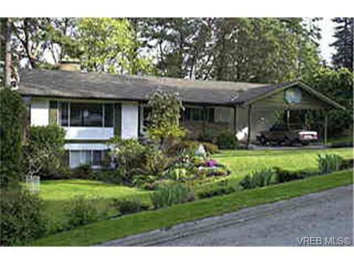 Main Photo: 4559 Seawood Terr in VICTORIA: SE Gordon Head House for sale (Saanich East)  : MLS®# 259380